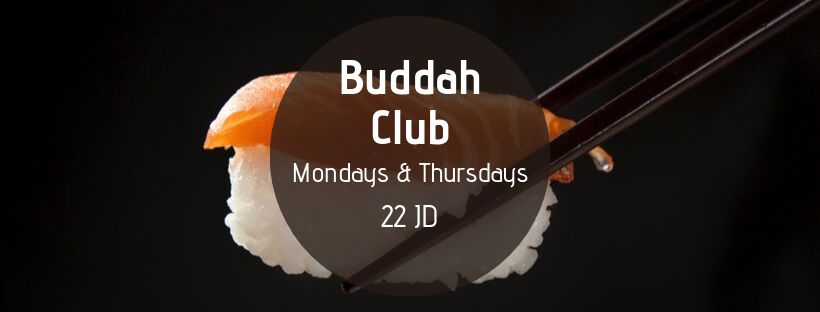 Sushi Offer @ Buddah Club
