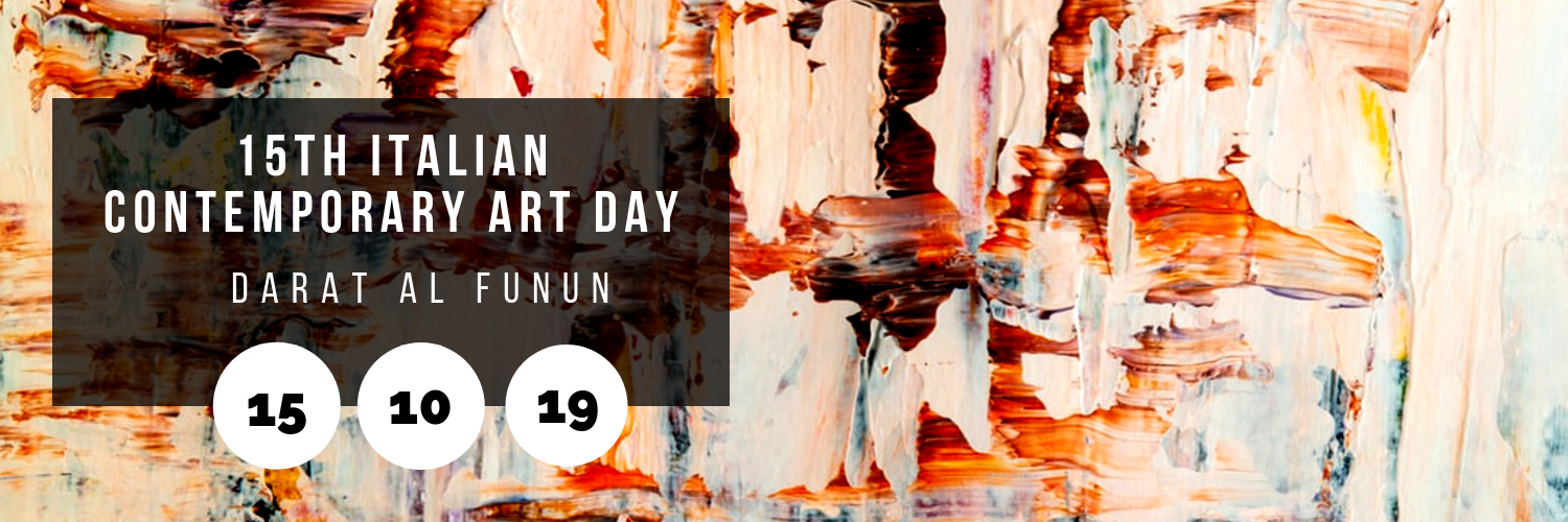 15th Italian Contemporary Art Day @ Darat Al Funun