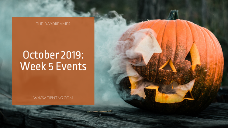 The Daydreamer - October 2019: Week 5 Events | Amman