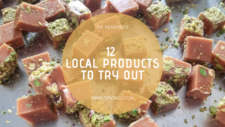 The Weekender - 12 Local Products To Try Out