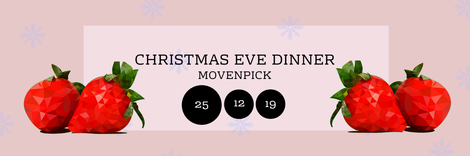 Christmas Eve Dinner @ Movenpick Dead Sea