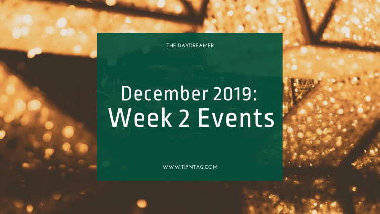 The Daydreamer - December 2019: Week 2 Events | Amman