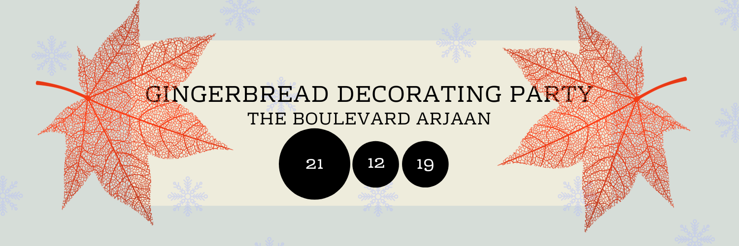 Gingerbread Decorating Party @ The Boulevard Arjaan