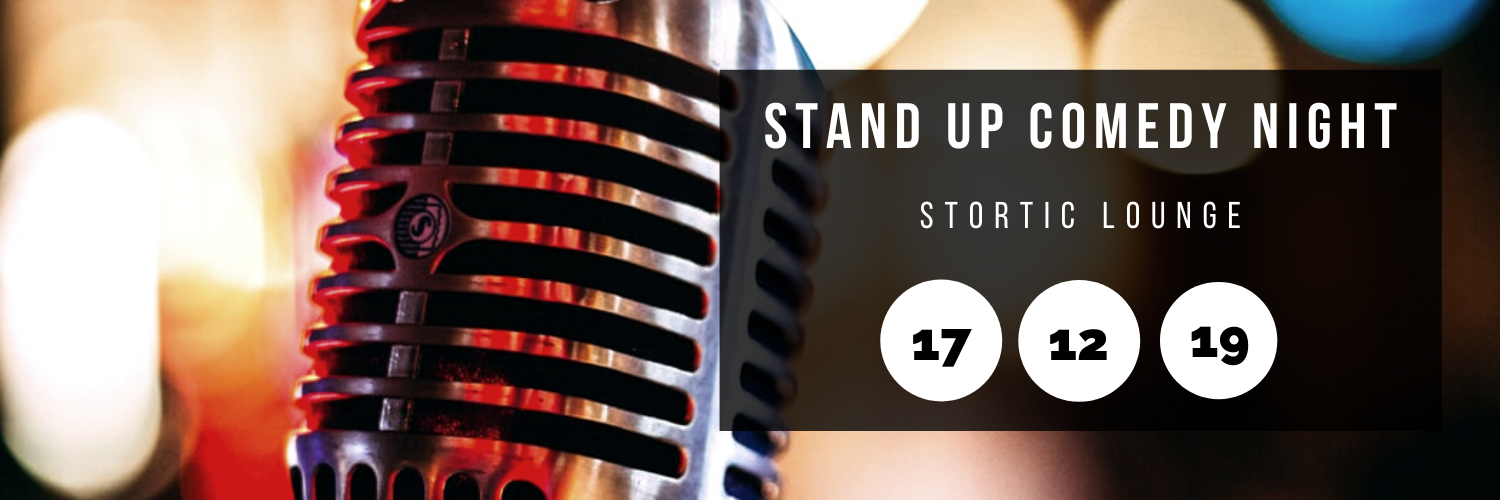 Stand Up Comedy Night @ Stortic