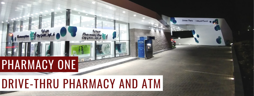 Pharmacy One | Drive-thru pharmacy and ATM