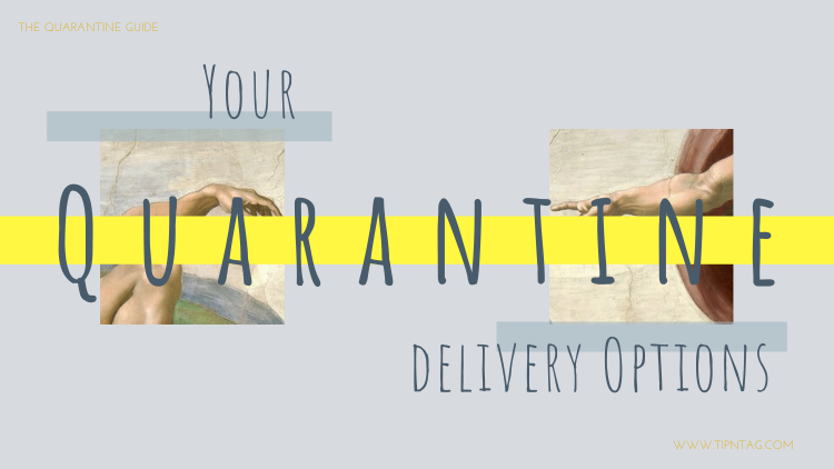 The Quarantine Guide - Your Quarantine Delivery Options | Amman