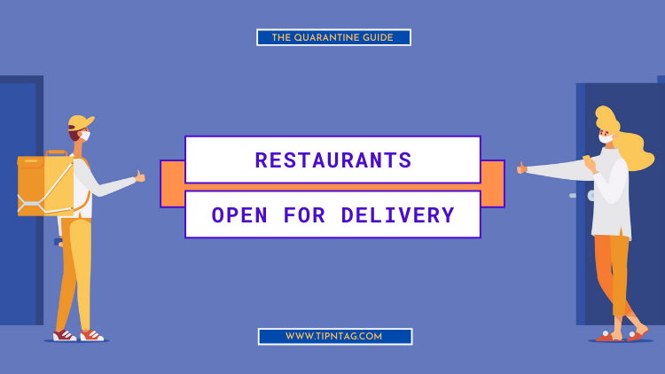 The Quarantine Guide - Restaurants Open For Delivery | Amman