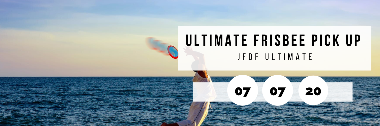 Tuesday Night Ultimate Frisbee Pick Up @ JFDF Ultimate  J