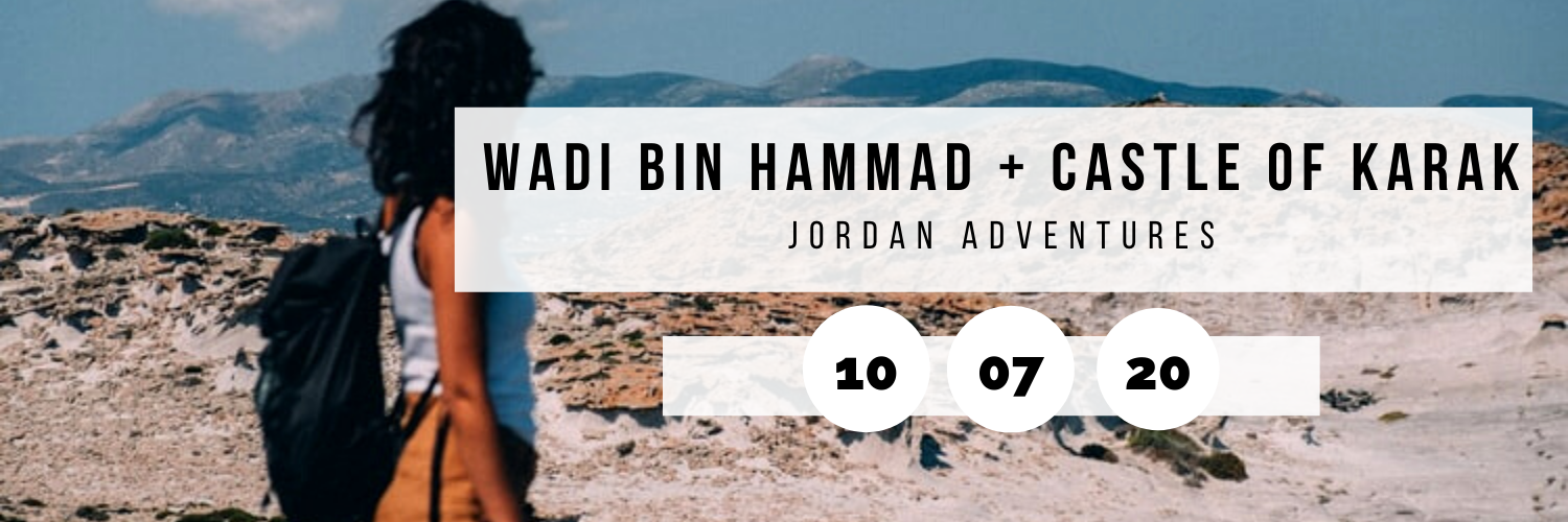 Wadi Bin Hammad + Castle of Karak @ Jordan Adventures