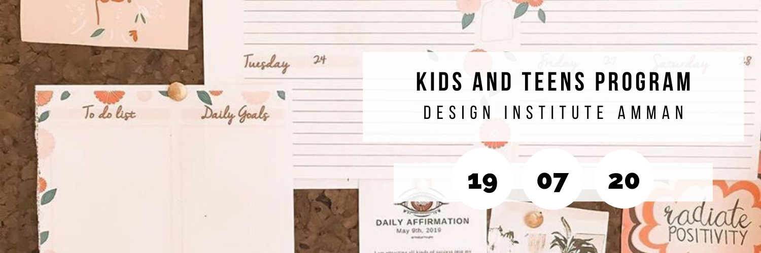 Kids & Teens Program @ Design Institute Amman