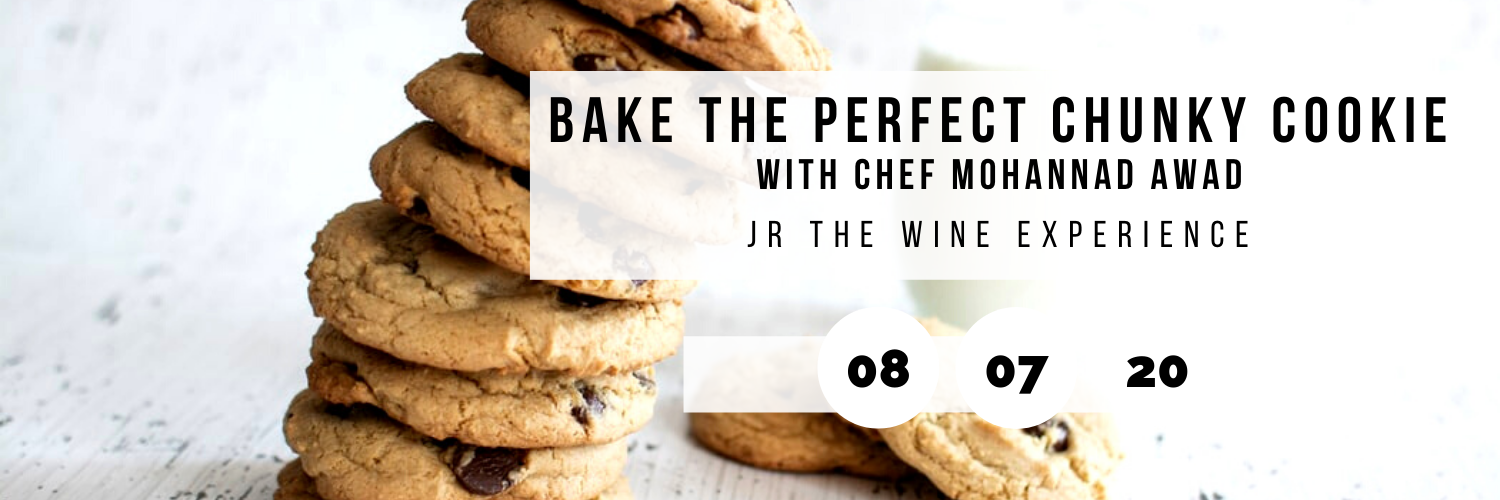 Bake The Perfect Chunky Cookie @ JR The Wine Experience